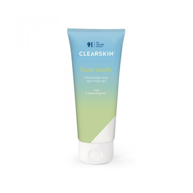 Clearskin facewash tube 100 ml DR vd Hoog
