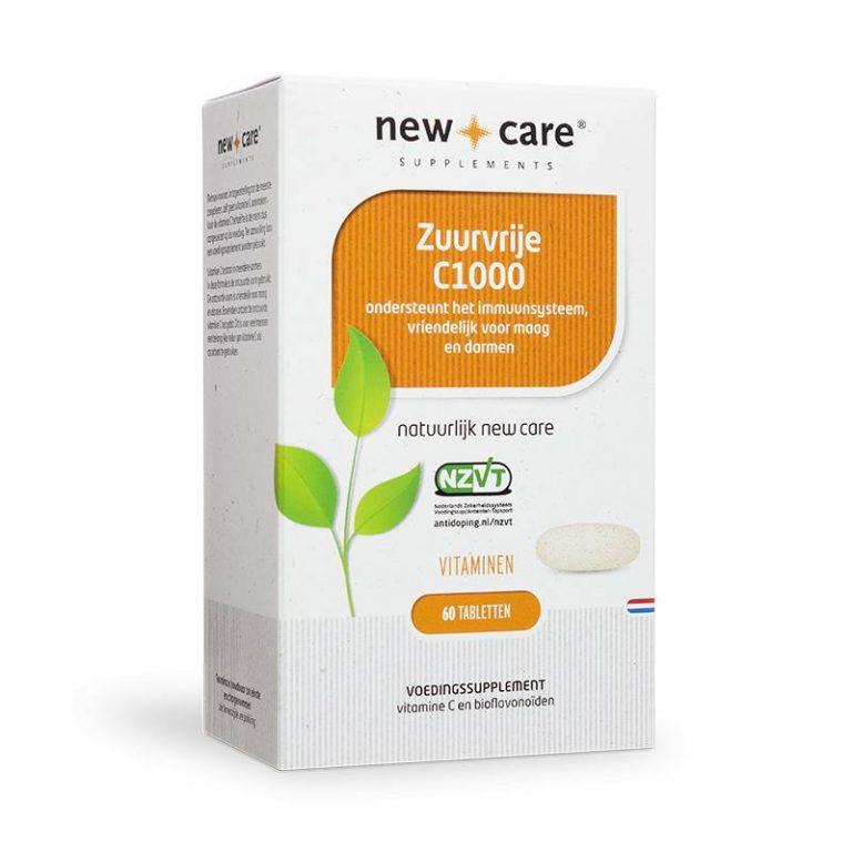 Zuurvrije C1000 60 tabletten New Care