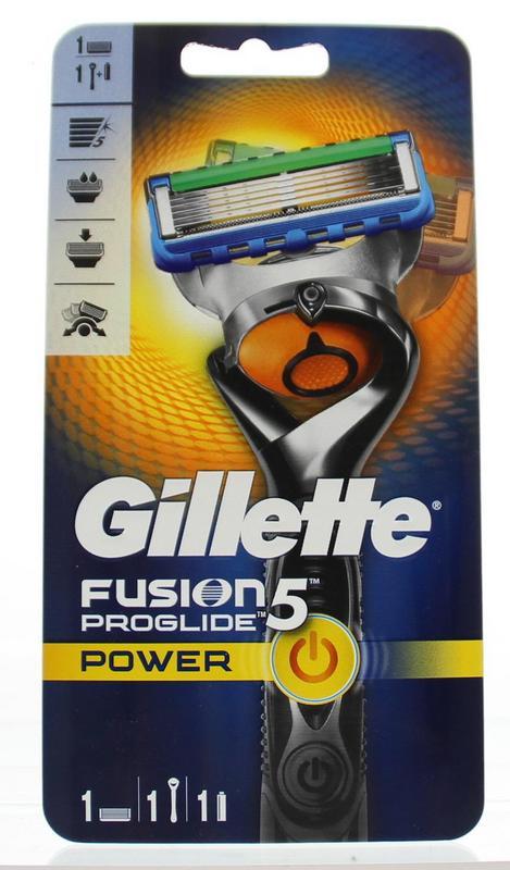 Fusion 5 Proglide power apparaat met 1 mesje 1st Gillette