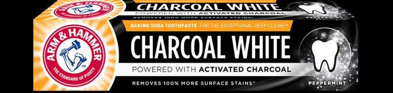 Charcoal White tandpasta 75ml Arm & Hammer
