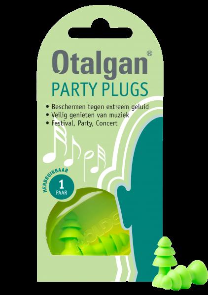 Oordopjes Party plugs 1 paar Otalgan