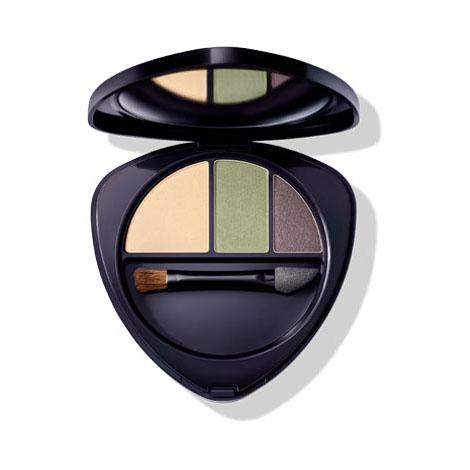 Eyeshadow trio 02 jade 4.4g Hauschka