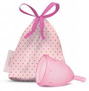 Menstruatie cup pink maat S 40 mm 1 stuks Ladycup