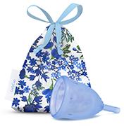 Menstruatie cup blue maat S 1 stuks Ladycup