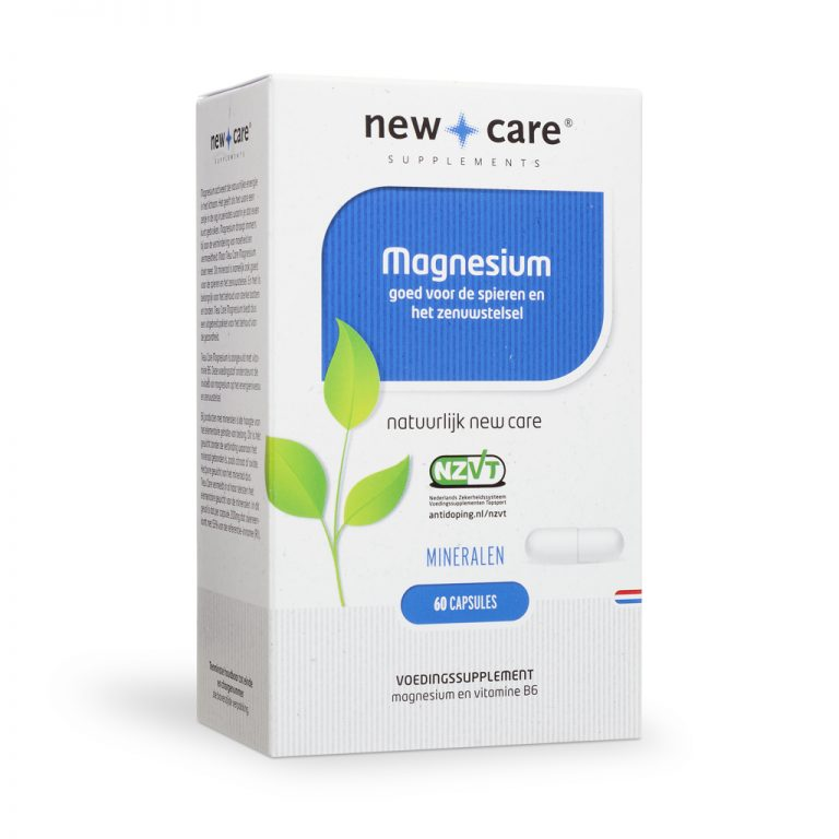 Magnesium 120 capsules New Care
