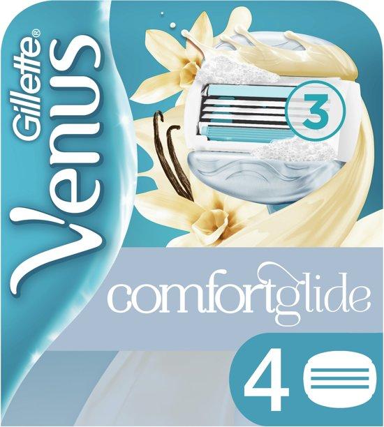 Venus comfort gel vanille mesjes 4st Gillette