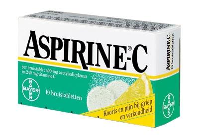 Aspirine C 10 bruistabletten