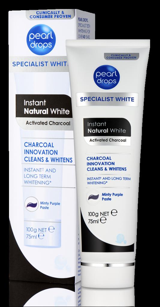 Instant Natural White tandpasta 50ml Pearldrops*