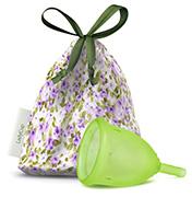 Menstruatie cup green maat L 1 stuks Ladycup