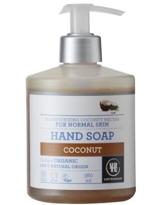 Handzeep vloeibaar kokosnoot 380 ml Urtekram