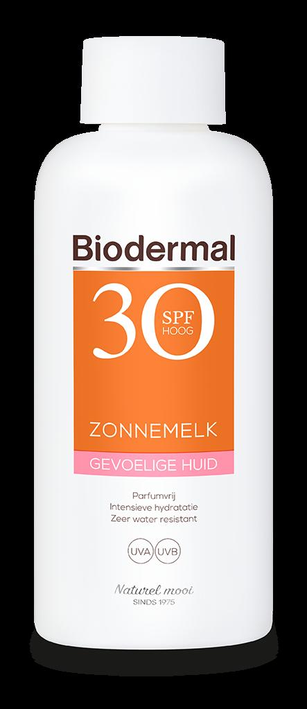 Zonnemelk SPF30 gevoelige huid 200 ml Biodermal