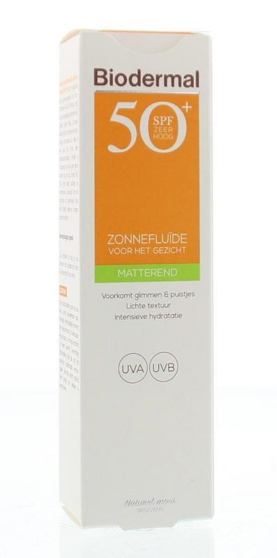 Matterende zonnefluid SPF50+ 40 ml Biodermal