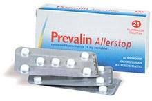 Prevalin allerstop 21 tabletten