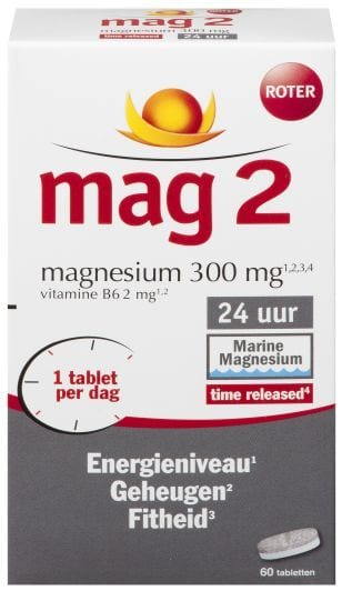 MAG2 24 Uurs 60 tabletten Roter