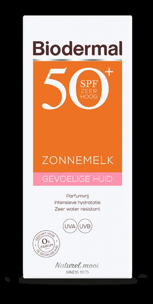 Zonnemelk SPF50+ gevoelige huid 200 ml Biodermal