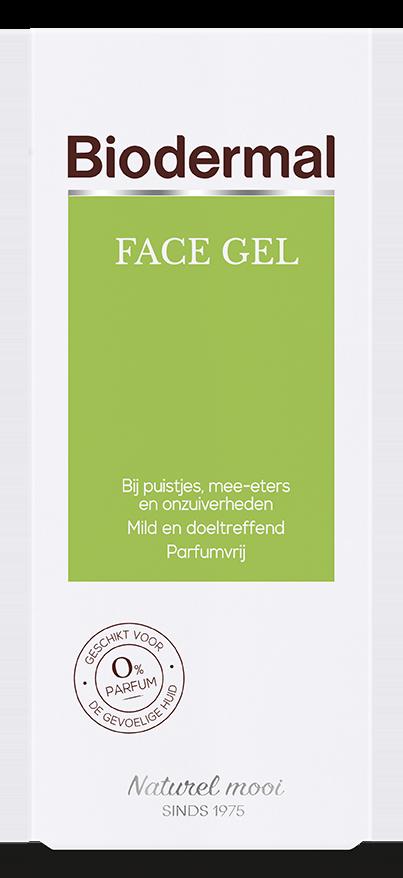 Face gel diepreinigend 150 ml Biodermal