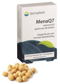 MenaQ7 vitamine K2 45 mcg 60 tabletten Springfield