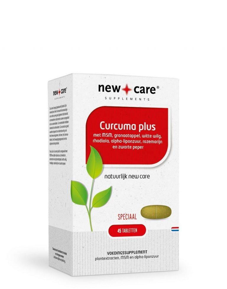 Curcuma plus 45 tabletten New Care