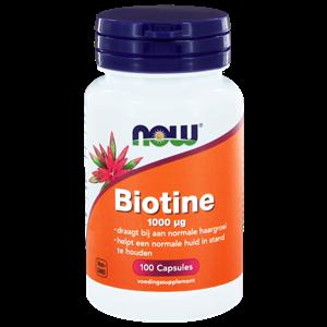 Biotine 1000 mcg 100 vegi-caps NOW