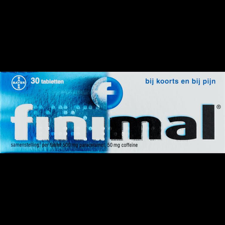 Finimal pijnstiller 30 tabletten