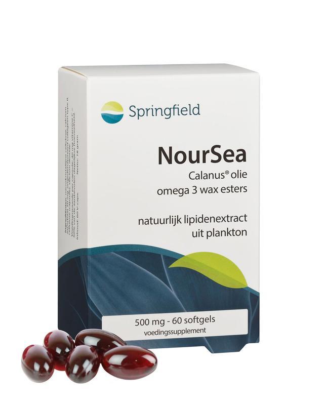 NourSea calanusolie omega 3 wax esters 60 soft-gels Springfield