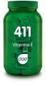 411 Vitamine E 200IE natuurlijk 100 capsules AOV