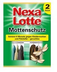 Mottenpapier 2vel Nexa Lotte