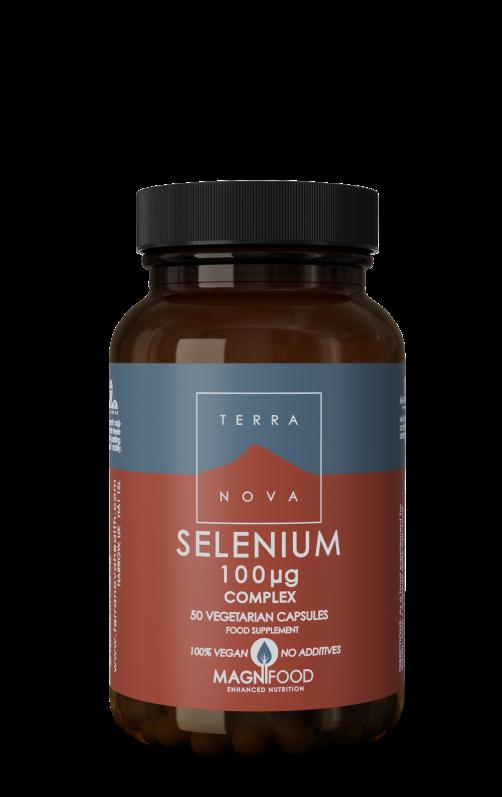 Selenium 200 mcg complex 100 capsules Terranova