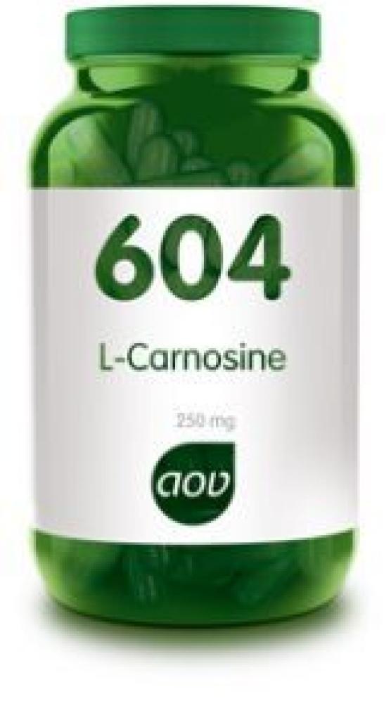 604 L-Carnosine 250 mg 60 vegicapsules AOV