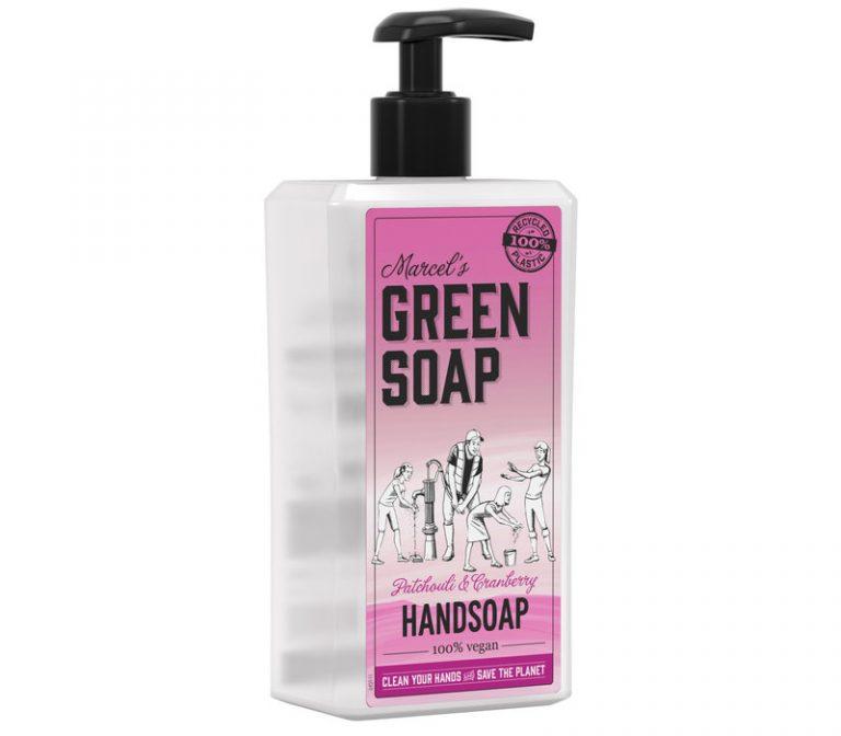 Handzeep patchouli & cranberry 500ml Marcel's GR Soap