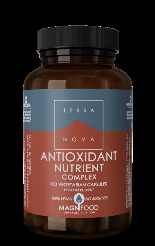 Antioxidant nutrient complex 100 capsules Terranova