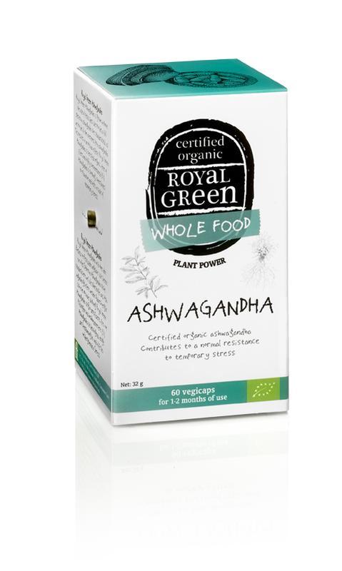 Ashwagandha 60 vegicaps Royal Green
