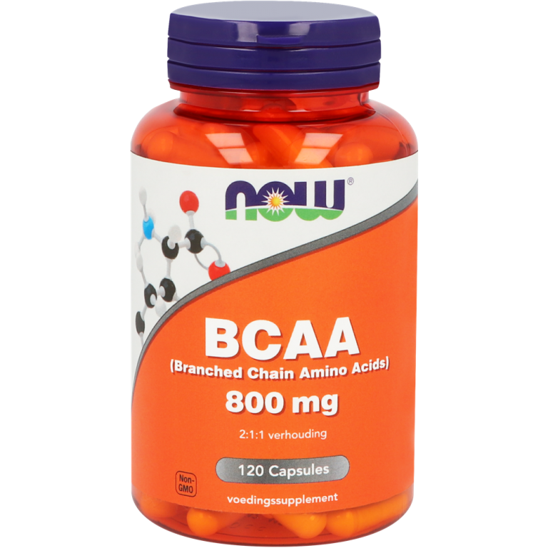 BCAA (Branched Chain Amino Acids) 120 capsules NOW