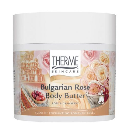 Bulgarian rose body butter 250 ml Therme