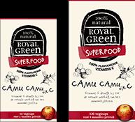 Camu camu vitamine C 60 vegicaps Royal Green