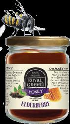 Elderberry honey 250 gram Royal Green