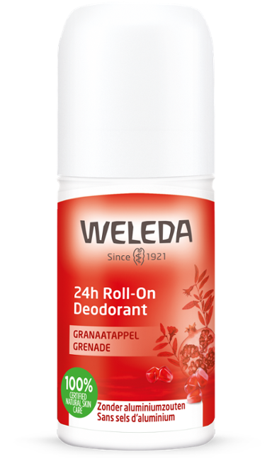 Granaatappel 24h rol on deodorant 50 ml Weleda