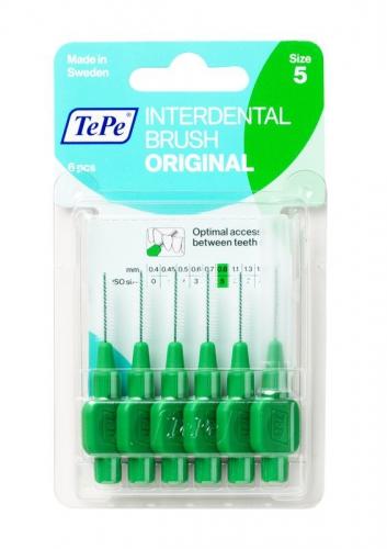Interdentale rager 0.8 mm groen 6 stuks Tepe