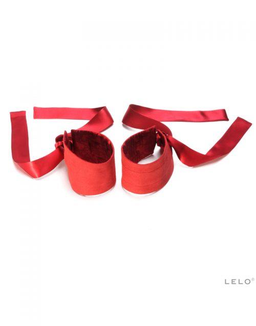 Lelo - Etherea Zijden Boeien Rood