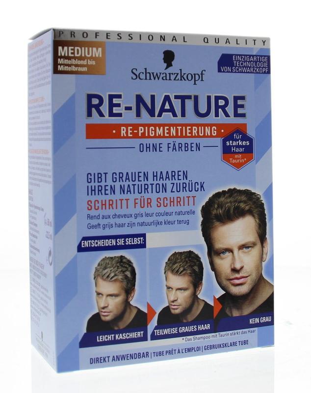 Re-nature creme man Medium 1 set Schwarzkopf