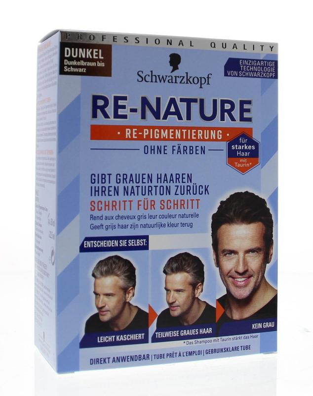 Re-nature creme man donker 1 set Schwarzkopf