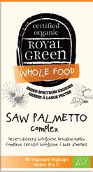 Saw palmetto complex 60 vegicaps Royal Green
