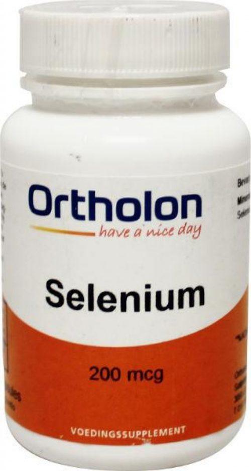 Selenium 200 mcg 60 vegicapsules Ortholon