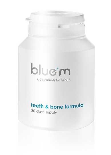 Teeth & bone formula 90 capsules Bluem