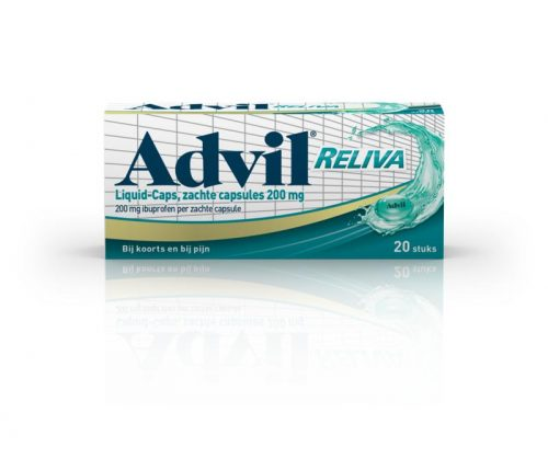 Advil relival liquid 200 mg 40 capsules
