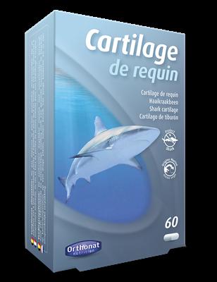 Cartilage de requin 60 capsules Orthonat