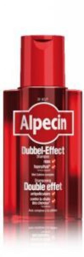 Dubbel effect shampoo 200ml Alpecin