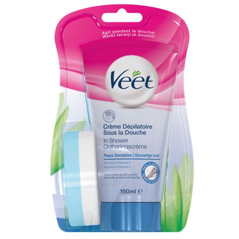 In shower gevoelige huid 150ml Veet
