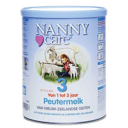 Nannycare peutergeitenmelk 400 gram Nannycare