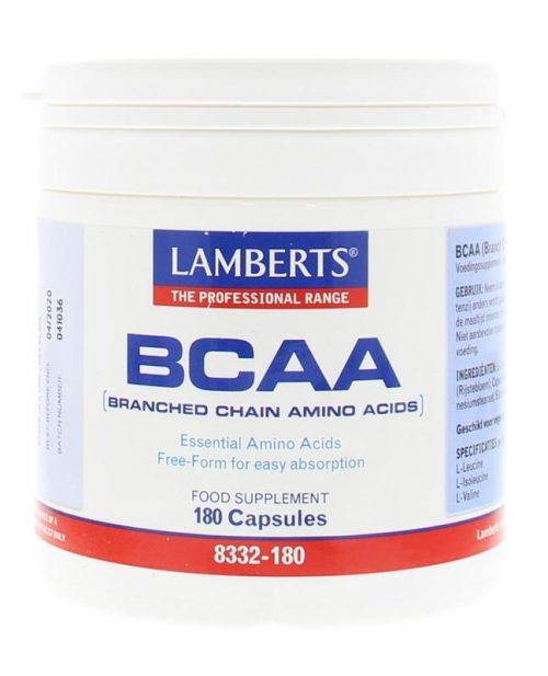 BCAA Complex 180 capsulles Lamberts